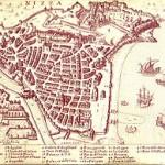 Plan de Nice en 1624