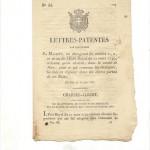 Lettre patente
