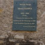 La pàtria natal d'Henri Sappia