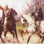 Garibaldi et Victor Emmanuel II